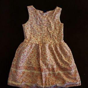 GAP kids floral print dress